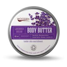 Wooden Spoon Bio testápoló vaj - Levendula álom (100 ml)