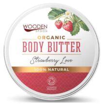 Wooden Spoon Bio testápoló vaj - Epres szerelem (100 ml)