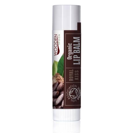 Wooden Spoon Bio ajakbalzsam - Fenséges csók (4,3 ml)