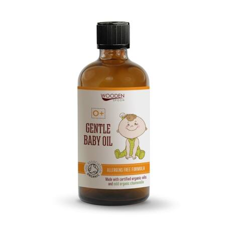 Wooden Spoon Bio gyengéd babaolaj (100 ml)