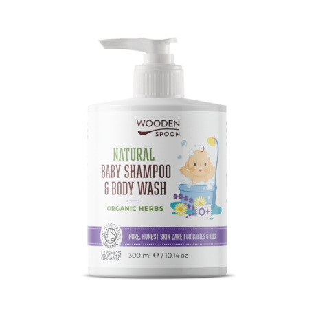 Wooden Spoon Natural - Baba sampon és tusfürdő - levendulás (300 ml)