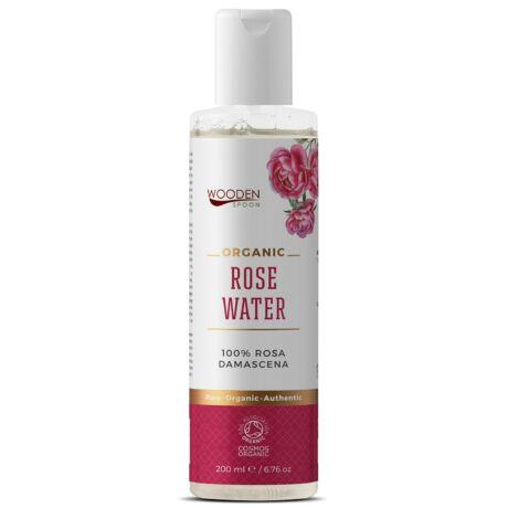 Wooden Spoon Organikus Damaszkuszi rózsavíz (200 ml)