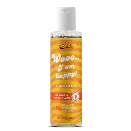 Wooden Spoon Bio tusfürdő - Happy (200 ml)