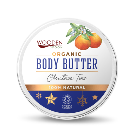 Wooden Spoon Bio testápoló vaj - Karácsonyi hangulat (100 ml)