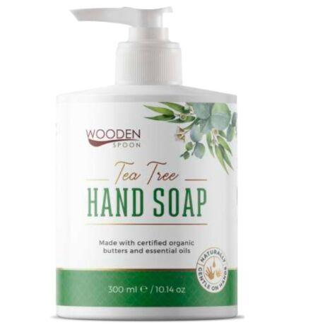 Wooden Spoon Bio folyékony kézmosó szappan – teafa (300 ml)