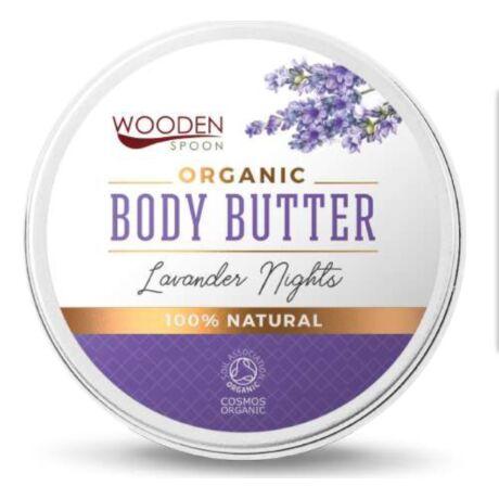 Wooden Spoon Bio testápoló vaj - Levendula álom próba (15 ml)